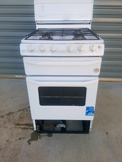 Chef oven cooktop four burner in good condition