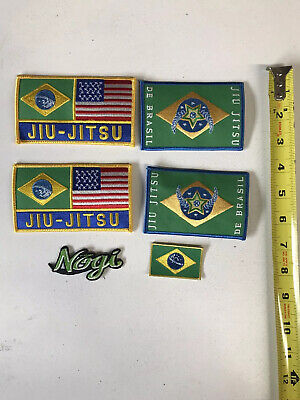 2 BJJ PATCH LOT Jiu Jitsu Gi Patches YOU PICK EM 18 to choose from IRON-ON