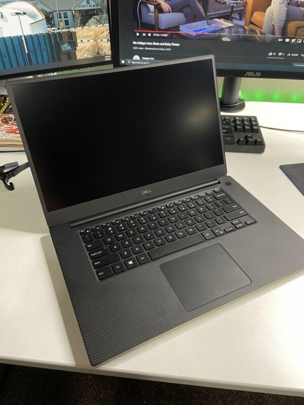 "Dell XPS 9570 15.6"" |  Intel i5-8300H 16GB RAM 250GB NVMe SSD + 1TB HDD Laptop"