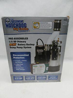 The Basement Watchdog Bw4000 Sump Pump System