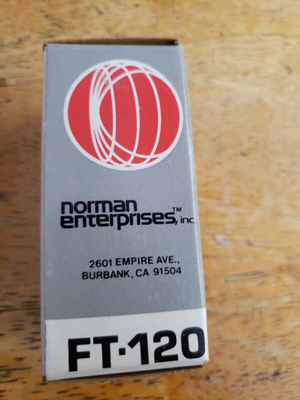 NORMAN Enterprises FT-120 flashtube for LH2 LH4 Armatar New old stock