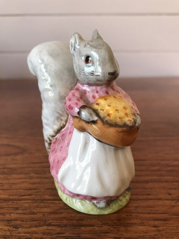 Vintage Beswick Beatrix Potter Goody Tiptoes BP3b Back Stamp Figurine