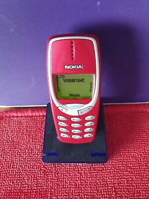 Nokia 3330 - Red (Unlocked) Mobile Phone original Very Rare...retro old school](Old School Cell Phone)