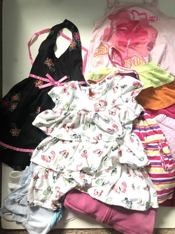 Toddler Girls 3T Lot Clothes Mixed Huge