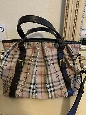 Burberry handbag authentic