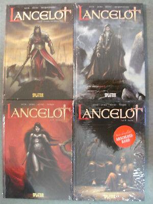 LANCELOT Band 1-4 / Komplette Serie / SPLITTER Comic Album / NEUWARE