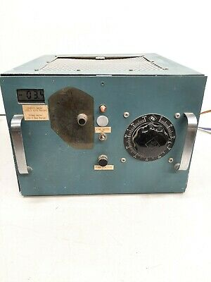 Vintage Electric Volt Panel Meter Industrial Tektronix 13.5x9.5x14
