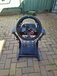 Logitech G29/920 Wheel   Pedals   Stand - READY TO RACE