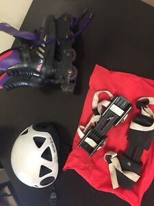 Skates, adult and kids ice and in-line,swimming aid, booster,