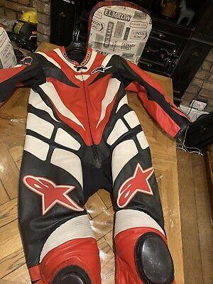 alpinestars leathers One Piece Suit Size 60