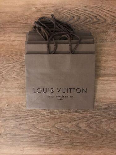 New Louis Vuitton Brown Shopping Gift Paper Bag 875 x 7 x 4