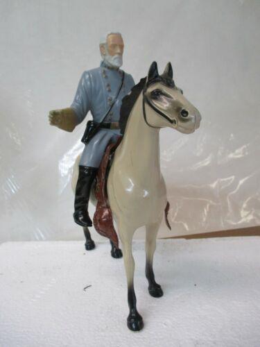 Vintage 1950s Hartland Robert E. Lee Figure with Horse
