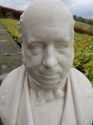 copeland parian bust onyx base  J LOWE Esq 1859  / J D CRITTENDEN Sculptor