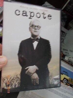 Capote Movie DVD, Phillip Seymour Hoffman Best Actor, Best Picture
