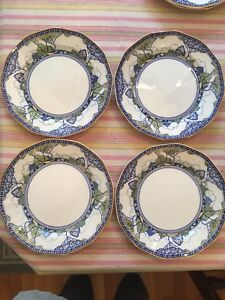 4 Dinner Plates Royal Doulton Merryweather Pattern