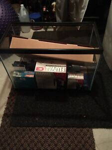 New 20 gallon fish tank aquarium