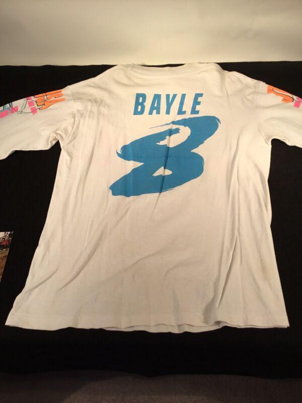 Jean Michel Bayle Race Worn Motocross Jersey