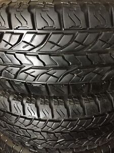 255/70R16 Yokohama Geolandar A/T Excellent Condition 2 Tires