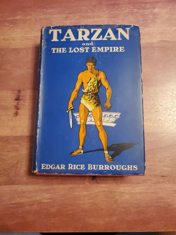 Tarzan and the Lost Empire - Edgar Rice Burroughs 1929 First Ed. HC/DJ VERY GOOD