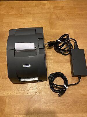 Epson Micros Tm-u220b Dot Matrix Pos Receipt Printer M188b Ethernet Auto Cutter