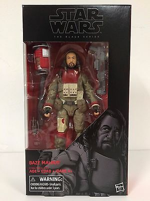 Misb New Hasbro Star Wars Black Series Baze Malbus 6  Action Figure Rogue One