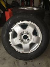 Full set of Alloy Rims and Tyres Upper Coomera Gold Coast North Preview
