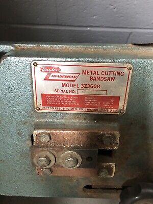 Dayton Metal Cutting Bandsaw 3z360g