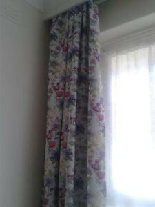 Koo pencil pleat curtains Caulfield Glen Eira Area Preview