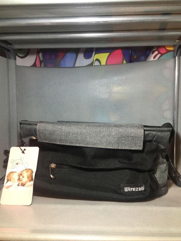 New Stroller Organizer Bag Wirezoll High-Capacity & Adjustable Straps Grey G