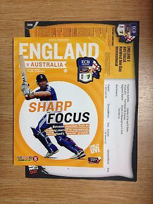 2012 England v Australia NatWest Series + Scorecard from Edgbaston