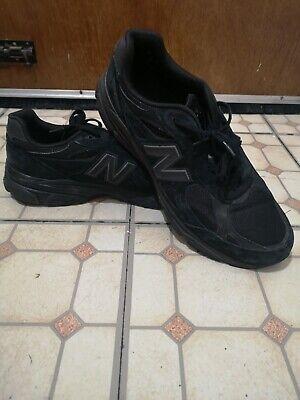 New Balance 990 v3 Black Made In USA UK12