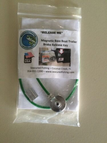 Release Me - Magnetic Brake Release Key for UC Receivers on trailers