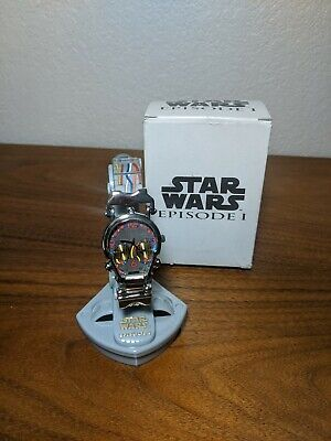 Vintage ~ STAR WARS !!!, C-3PO, Episode 1, Skeletal Watch ~ NOS