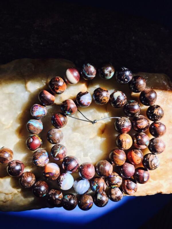 Australian Boulder Opals jewelry beads