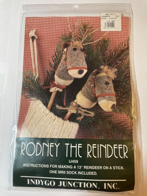 """Rodney the Reindeer instructions for 13"""""""