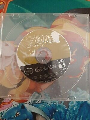 The Legend Of Zelda Twilight Princess Nintendo Gamecube DISC ONLY TESTED