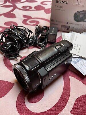 "Sony FDR-AX33 Videocamera 4K - 20.6 Mpx - Display LCD 3"" - sensore CMOS Exmor R"