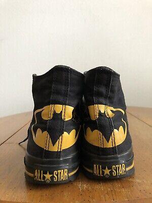 CONVERSE Chuck Taylor Batman Shoes Size Men's 5  Women's 7