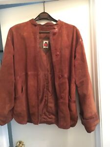 Vintage/ retro suede ladies jacket