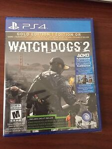 NOUVEAU/ NEW - Gold Edition - Watch Dogs 2  - PS4