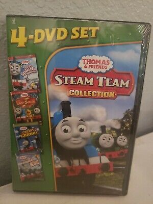 Thomas Friends: Steam Team Collection NEW SEALED!! (DVD, 2011, 4-Disc Set)