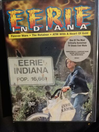 Eerie, Indiana - Forever Ware / Retainer / Atm With A Heart Of Gold - DVD New - $35.00