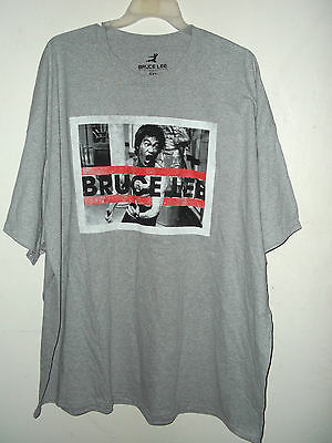 New Bruce Lee T Shirt Ash  5Xl 4Xl Or 3Xl  Lic By Bruce Lee Enterprises