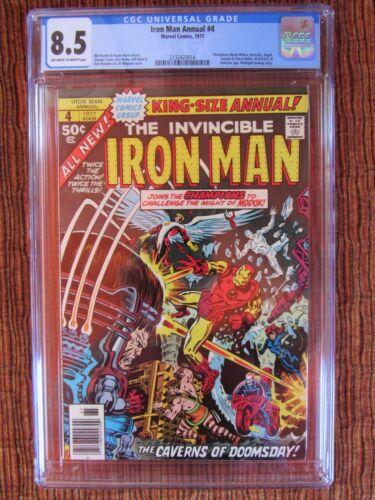 Iron Man Annual 4 CGC 8.5