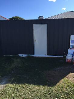 Shipping Container with side door, wall and roof vents. Stafford Brisbane North West Preview