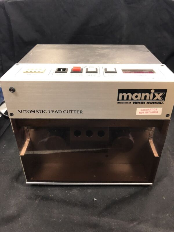 Manix MS-1100A Automatic Lead Cutter !! Free Shipping!!