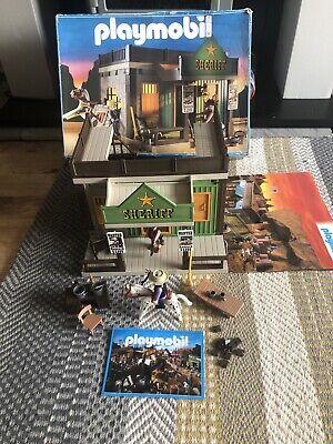 Vintage Playmobil Sheriff Jail Play Set 3786 With Box (Rare)
