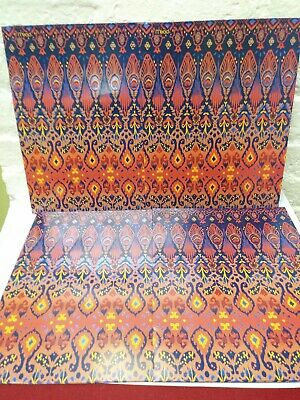 4 Pack Avery Paper Folders Two-pockets Blue And Orange