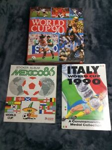 World Cup Sticker Albums. Mexico 86, Italia 90 PANINI, ORBIS