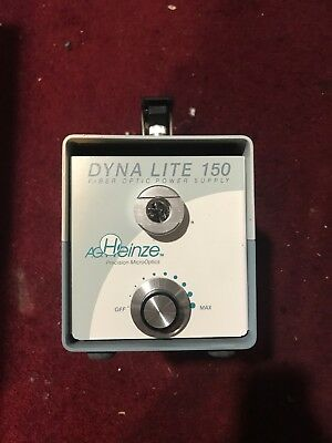 Dyna Lite Dl-150 Fiber Optic Microscope Light Source Illumination Power Supply